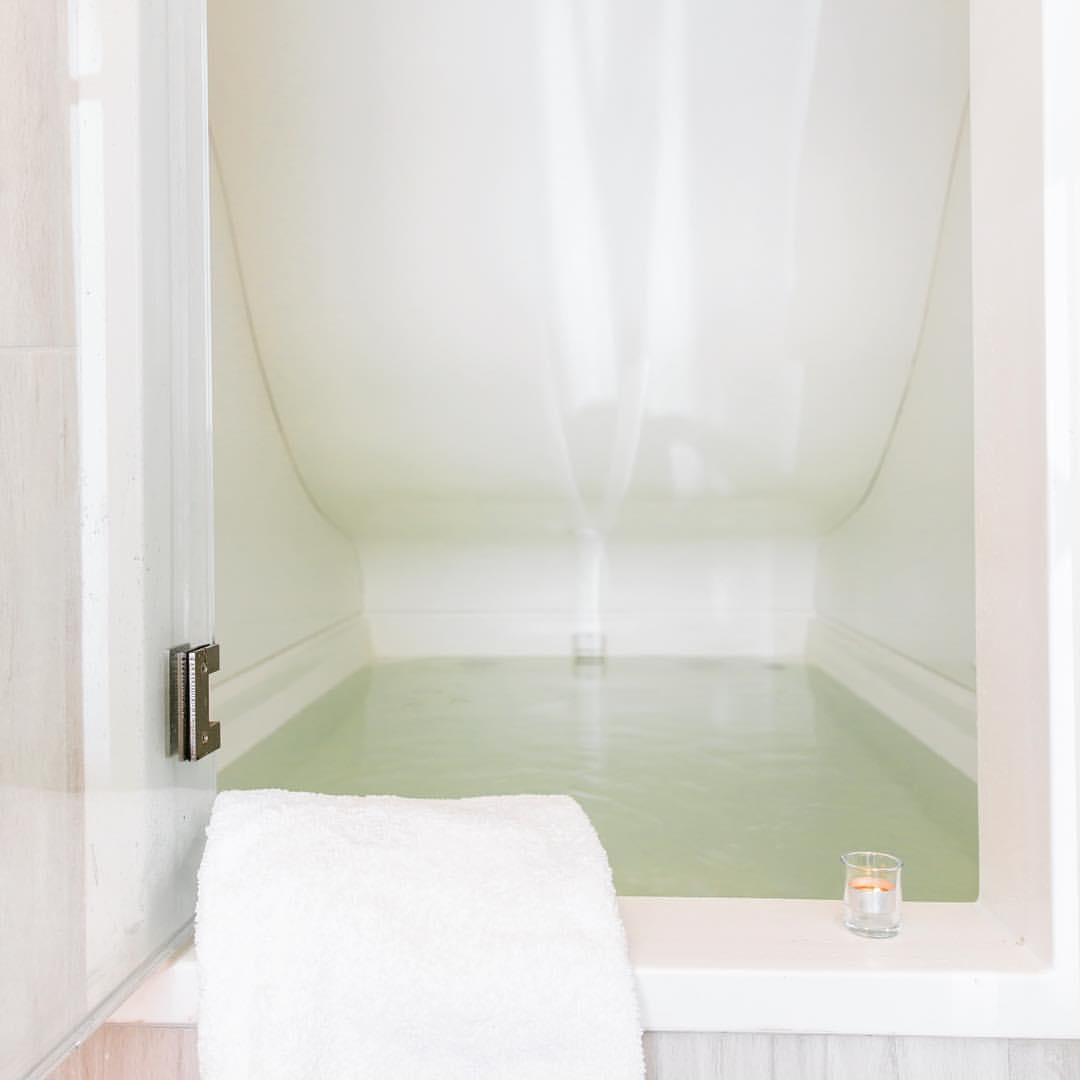 Try float therapy at balans organic spa on newbury st for 10 newbury salon