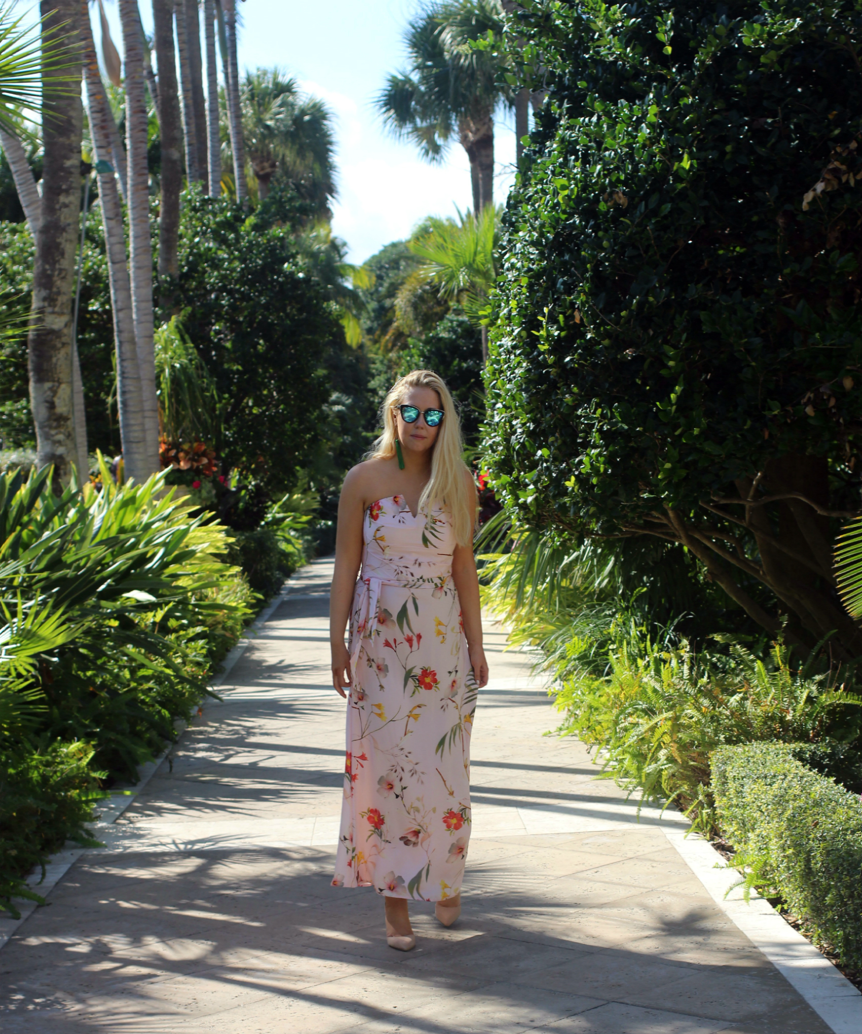 strolling the gardens at the breakers palm beach