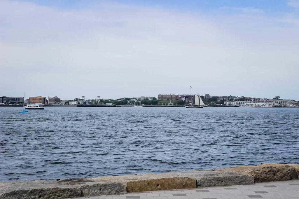 Boston Harborwalk View