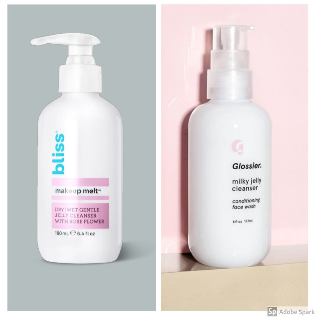 Makeup Melt Jelly Cleanser vs Milky Jelly Cleanser